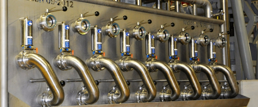 brewery piping